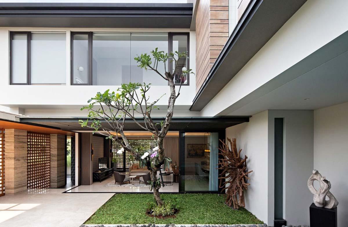 fasad rumah mewah