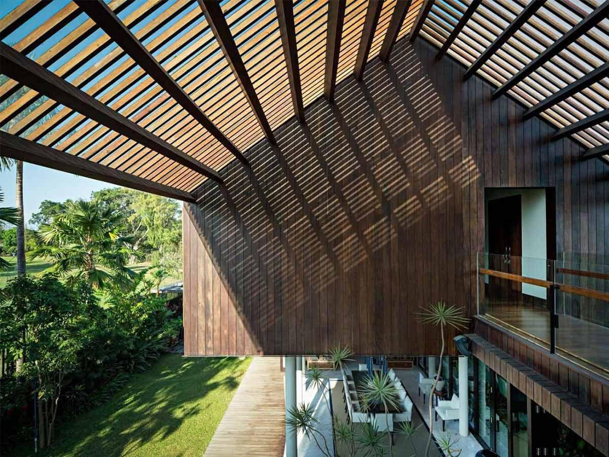 fasad rumah kayu