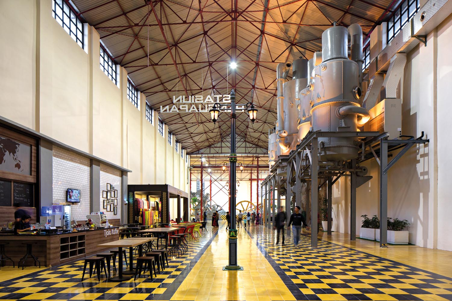 Airmas Asri Converts a Century-Year-Old Factory into a Multifunctional Heritage Destination