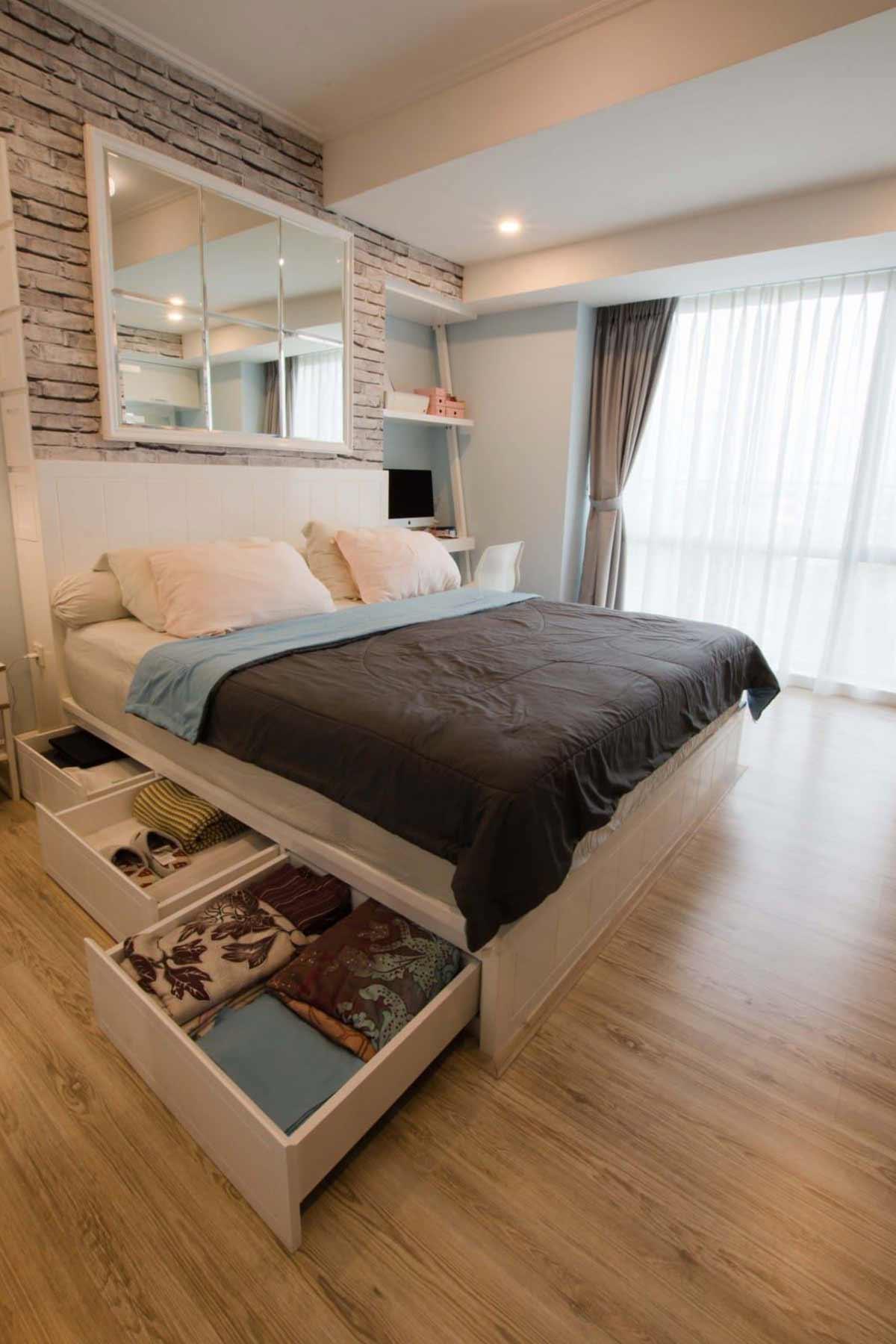 Apartemen sempit terasa lega