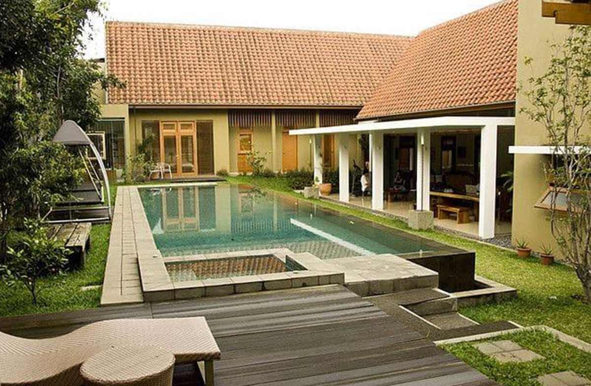 fasad rumah tropis