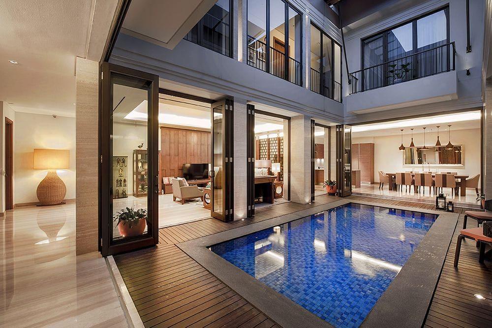 82 Desain Kolam Renang Rumah HD Terbaik