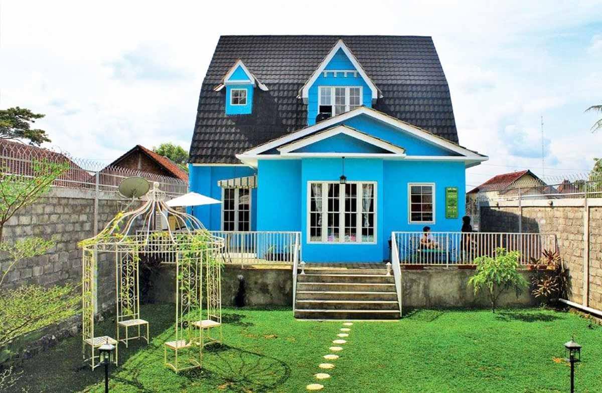 fasad rumah sederhana