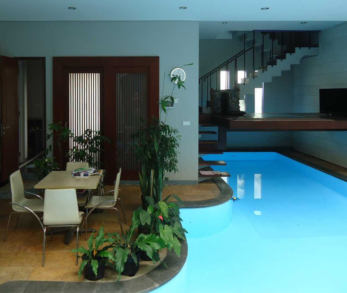 The Relaxation House oleh architectree