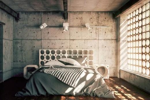 15 Inspirasi Dekorasi Dan Desain Kamar Tidur Minimalis Tren