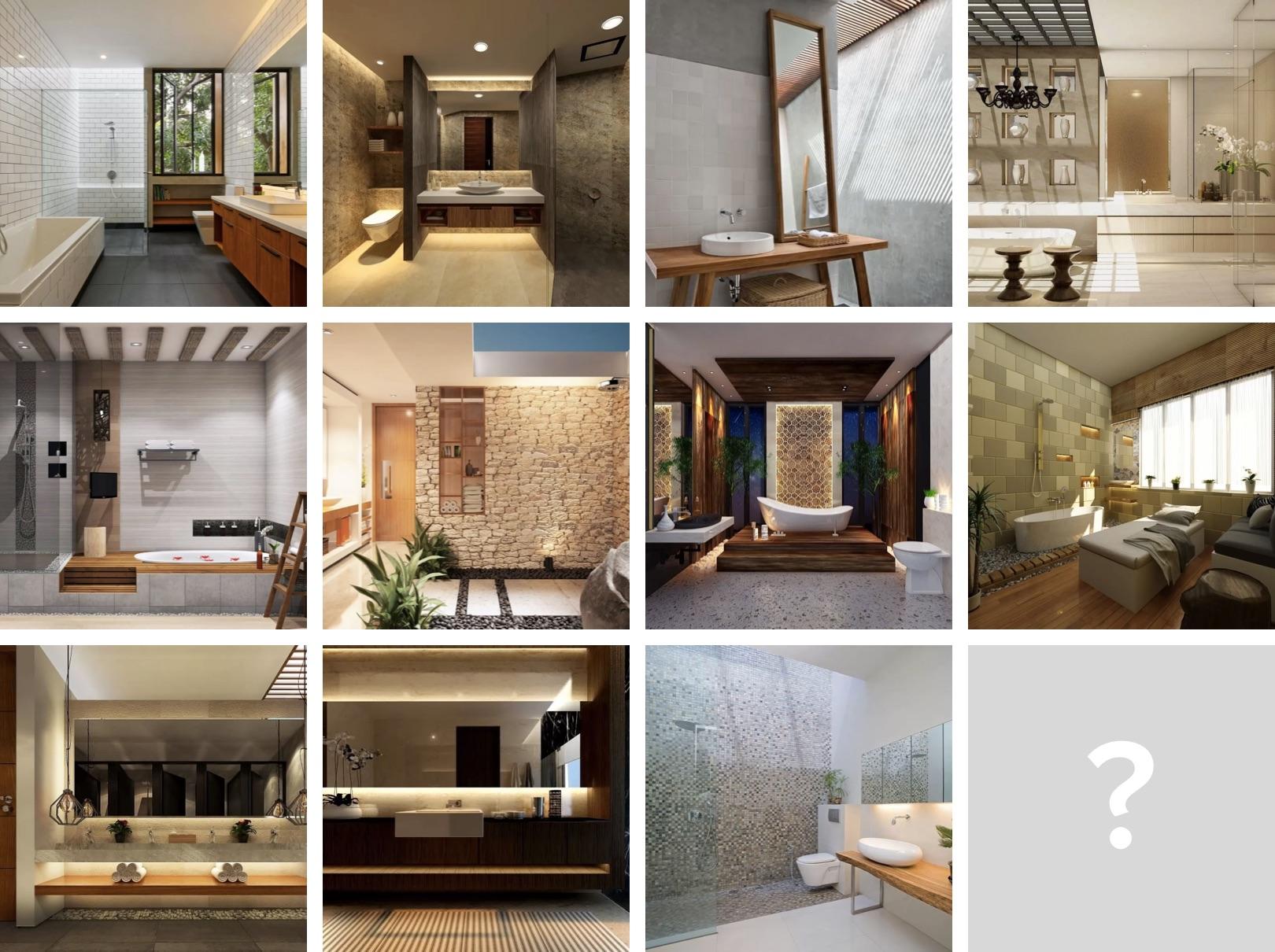 11 Inspirasi Ide Desain Kamar Mandi Minimalis Eksotis Desain Terbaru