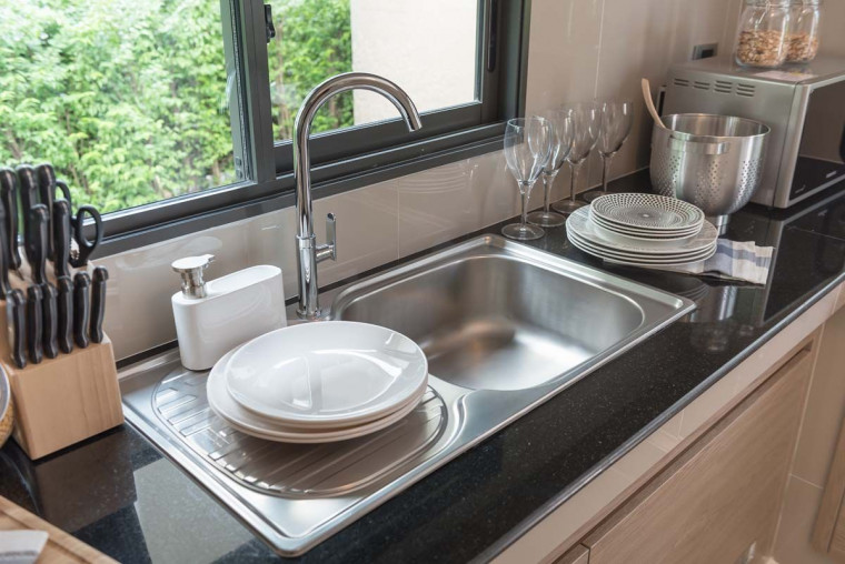 6 Tips Merawat Sink Dapur