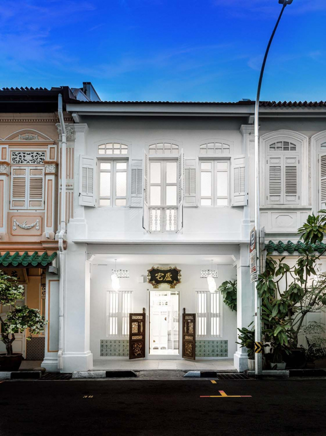 Ministry of Design's Canvas House Reimagines Old Shophouses Preservation