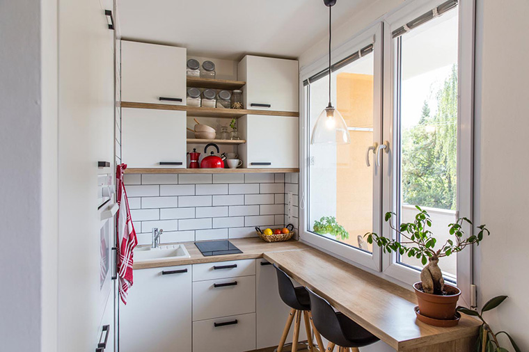 Small Kitchen Ideas for condo and apartment