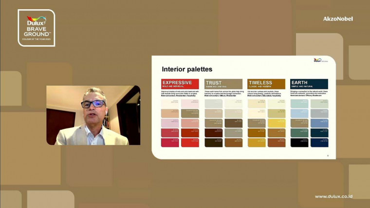"""Bertema """"Brave Ground"""" Dulux Luncurkan Colour of the Year 2021"""