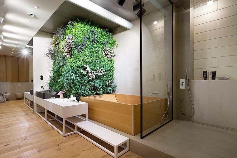 Rumah Tampak Sejuk Berikut 8 Inspirasi Taman Vertikal Di Dalam R