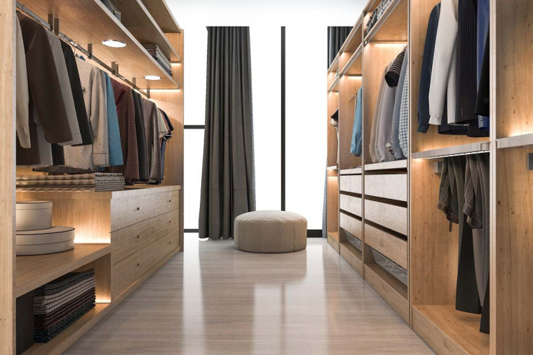 6 Hal yang Harus Diperhatikan Sebelum Membangun Walk-in Closet