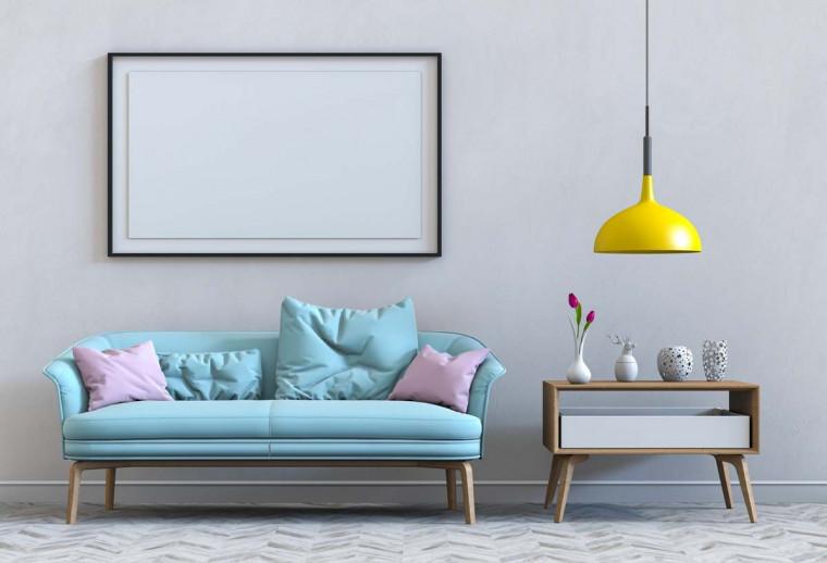 6 Inspirasi Ruang Tamu dengan Furniture Minimalis