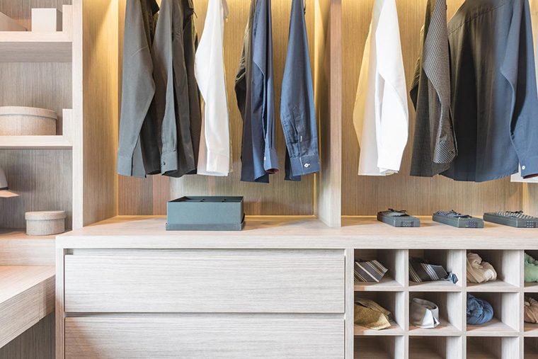 Planning for a Walk-in Closet