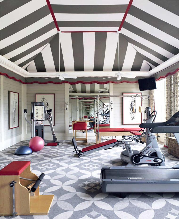 desain tempat olahraga di rumah desain ruang olahraga di rumah
