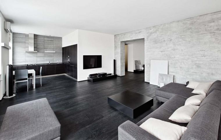 Panduan Menerapkan Konsep Interior Rumah Hitam Putih