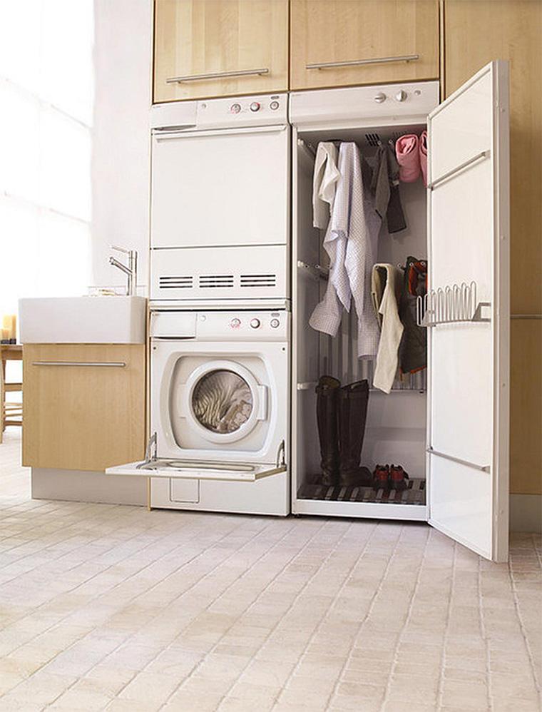 Ruang cuci jemur Ruang cuci jemur minimalis Area cuci jemur