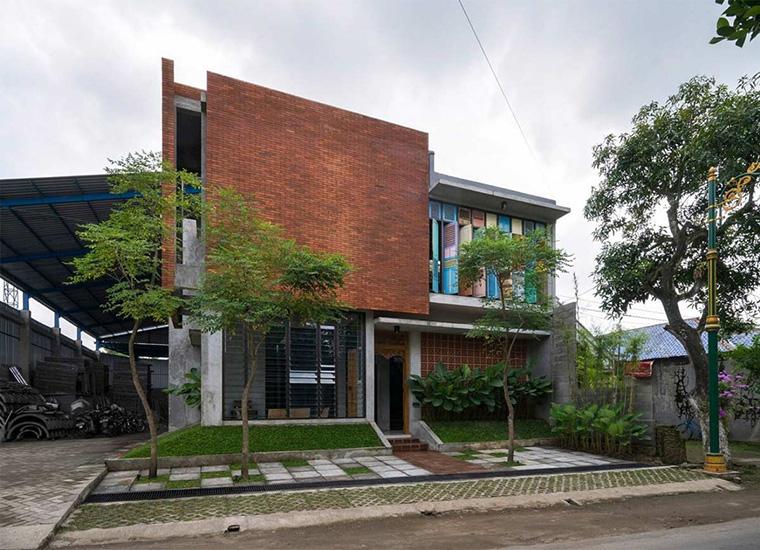 Desain kontemporer Rumah kontemporer