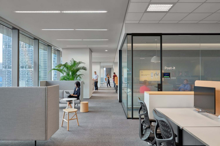 Zendesk Singapore Develops an HQ with a Community Based Working Space