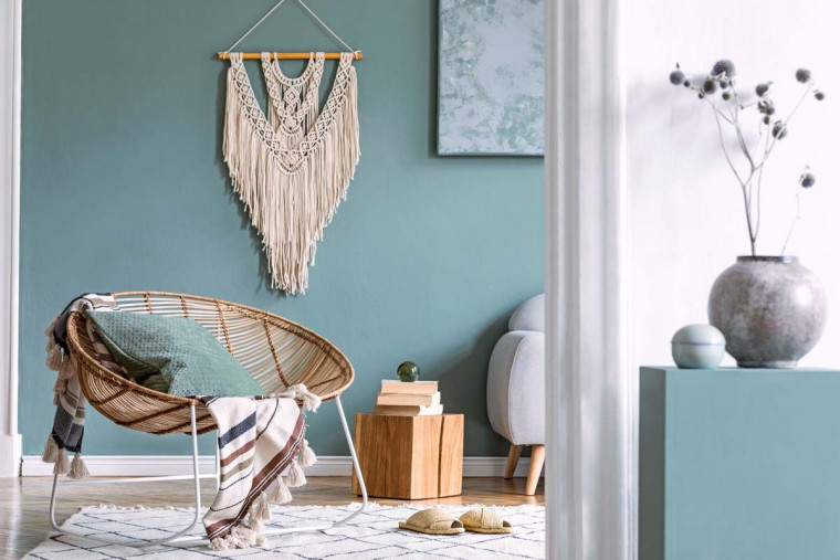 6 Dekorasi Cantik untuk Hadirkan Ruang Keluarga Boho