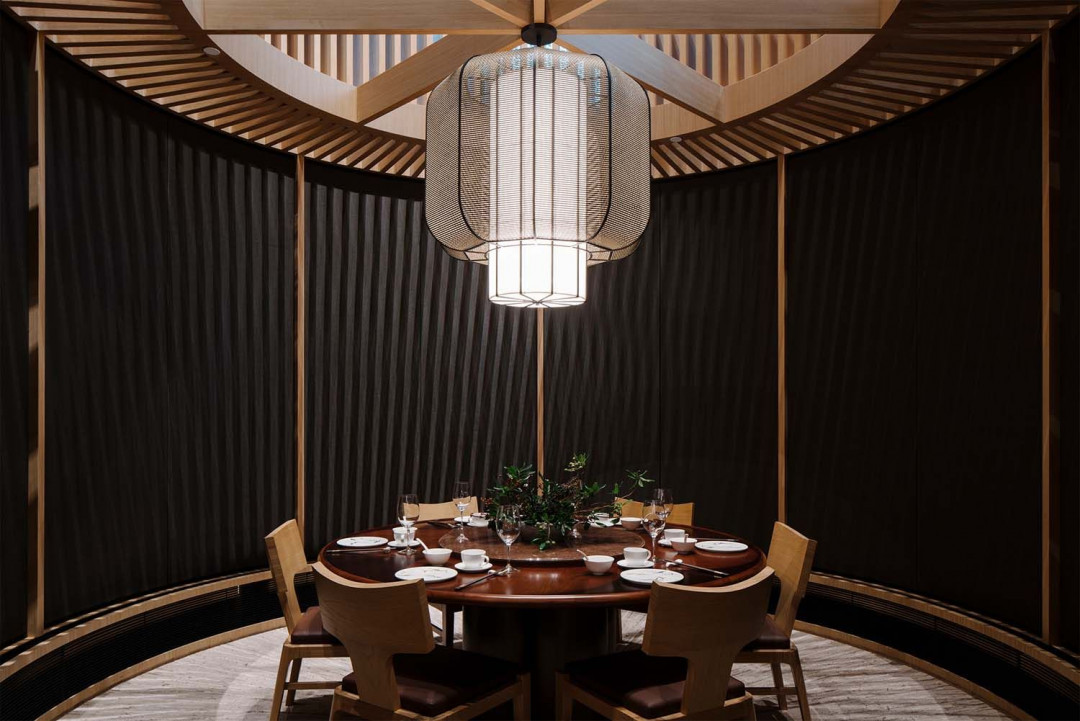 Blossom Restaurant by Brewin Design Office is a Spatial Installation in an Immense Interior Space