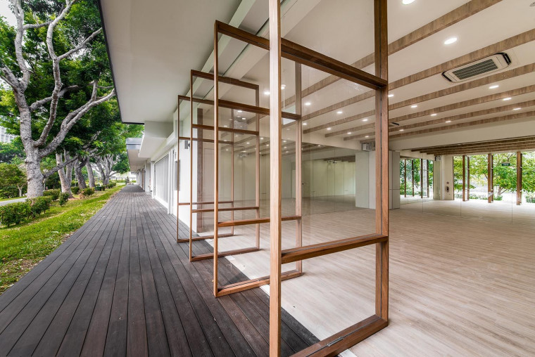 Tzu Chi Humanistic Youth Centre's Muted Interior Brings Emphasis on Social Activities and Interactions