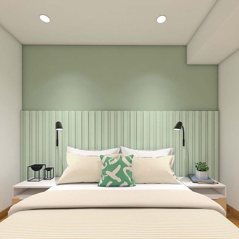 5 Inspirasi Ruangan Hijau yang Elegan