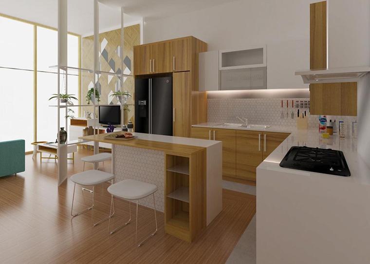 Desain Meja Dapur Island  5 tahap persiapan penting sebelum renovasi dapur