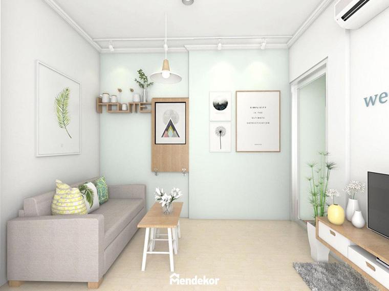 Kombinasi Warna Cat Rumah Hijau Dan Kuning  6 inspirasi warna hijau mint membuat interior rumah tampak segar