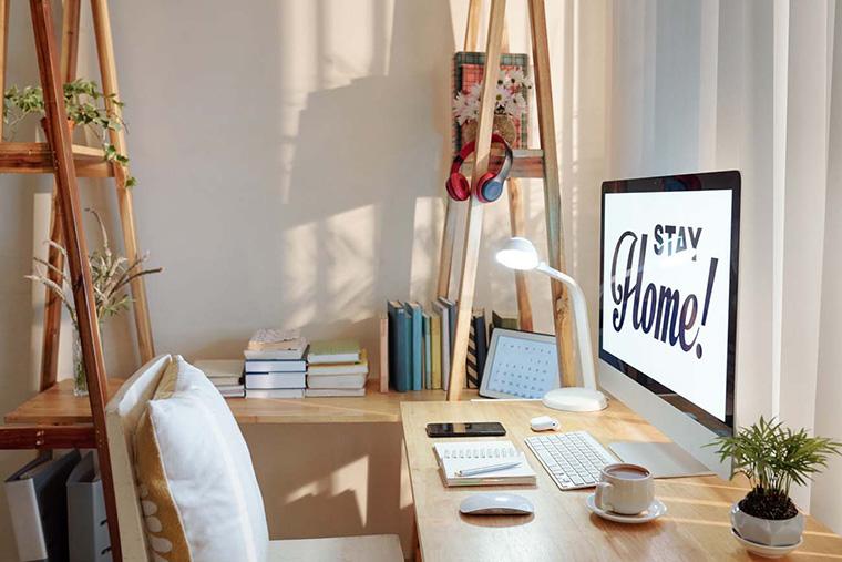 Tips Nyaman Kerja dari Apartemen Kecil