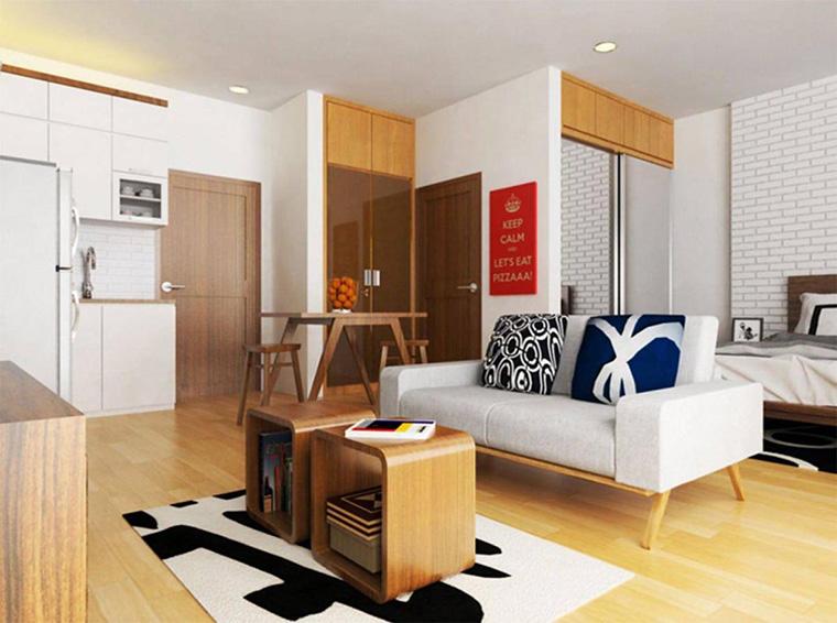 6 Inspirasi Apartemen Studio yang Nyaman dan Cocok untuk Milenial