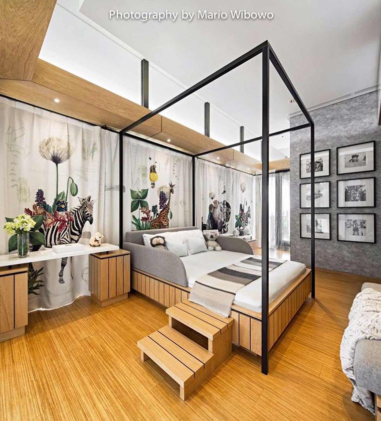 Desain Kamar Tidur Untuk Wanita Dewasa 10 desain kamar tidur anak dengan tampilan ceria dan