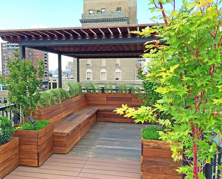 Sejuk Ban Ini Dia 9 Desain Rooftop Garden