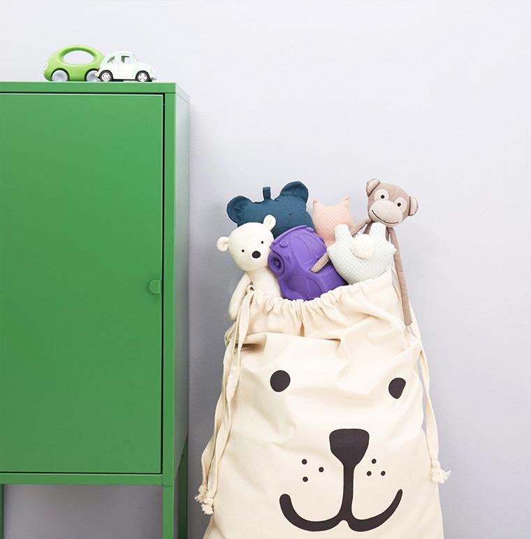 Penyimpanan Mainan Anak
