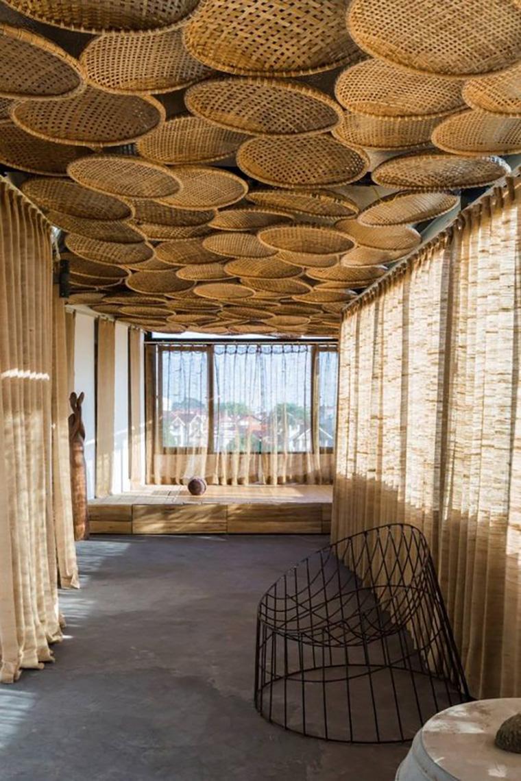 Tampak Artistik Inilah 5 Inspirasi Desain Rumah Bambu