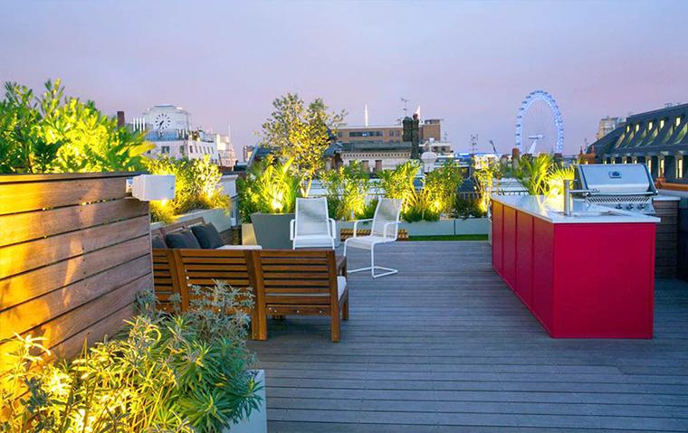 Sejuk Banget, Ini Dia 9 Desain Rooftop Garden