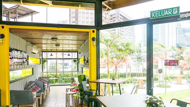 8 Desain Rumah dan Kafe Kontainer yang Tampil Unik