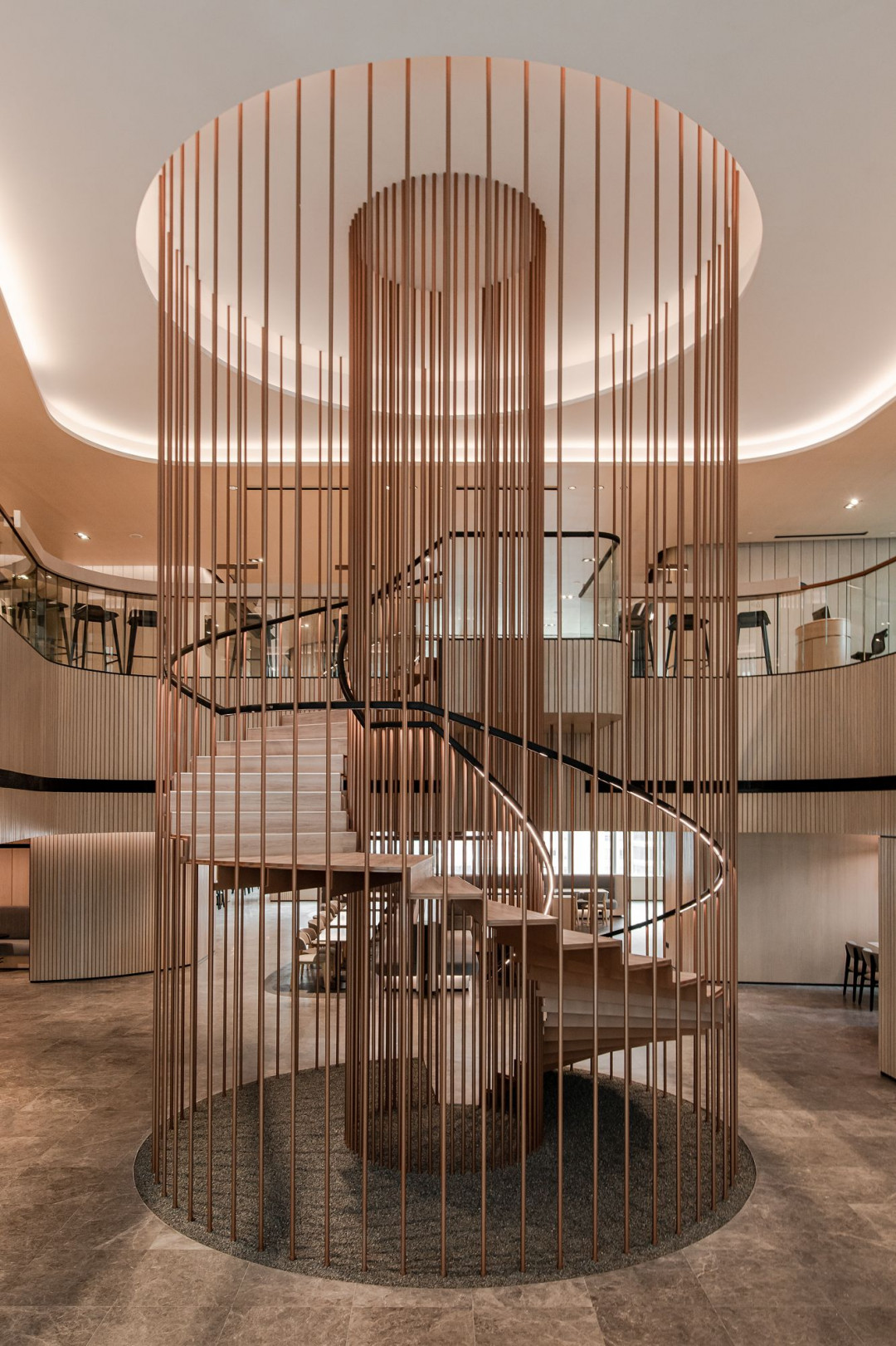 YTL Headquarters by Ministry of Design Presents Elegance from its Beautifully Crafted Materiality