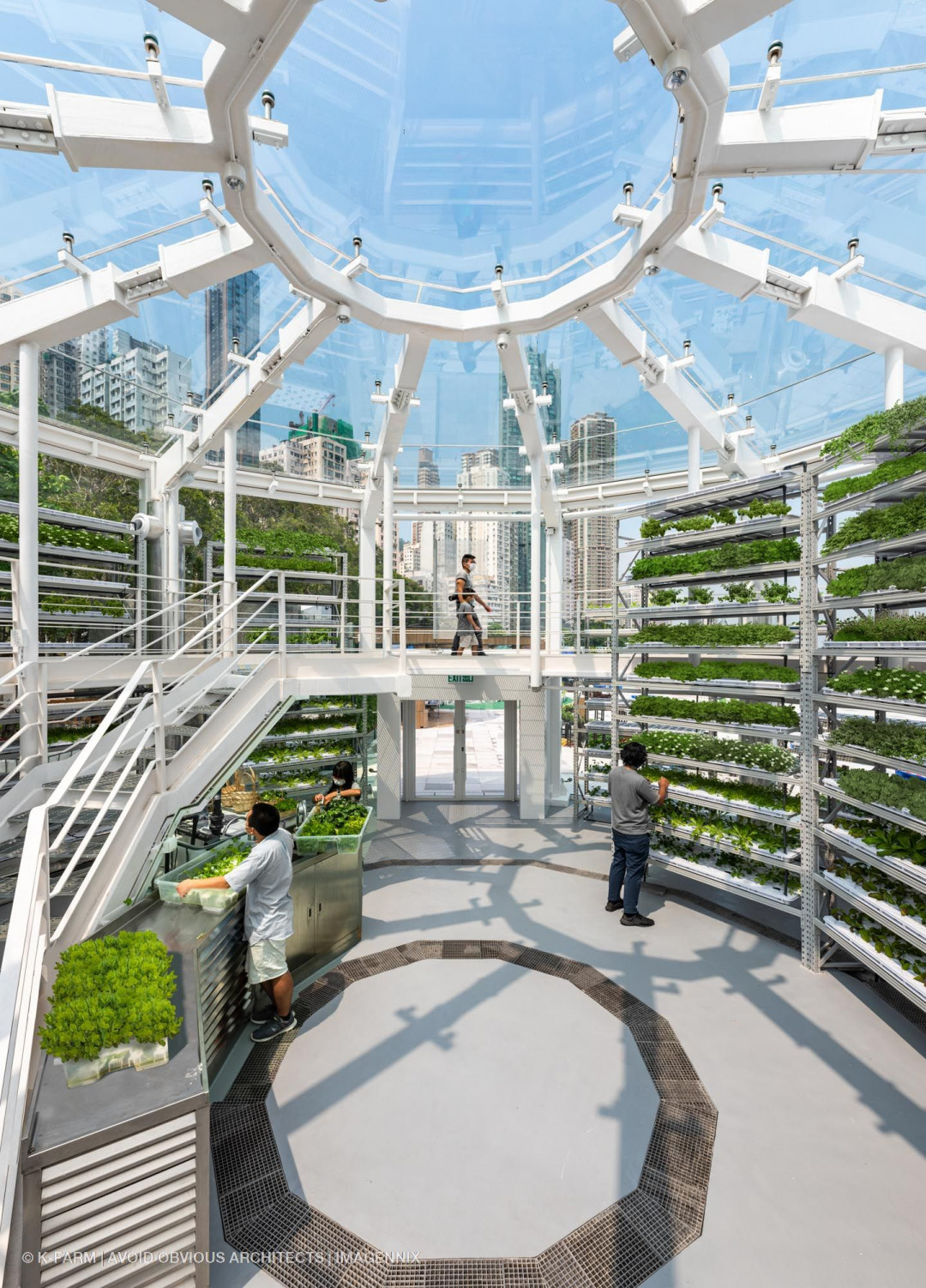 K-farm: Smart Urban Farming