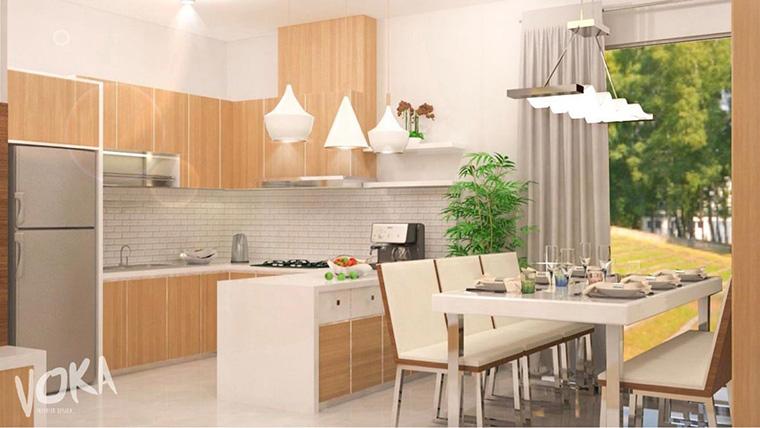 Hasil gambar untuk Desain Interior Dapur Miliki Pencahayaan yang Tidak Memadai
