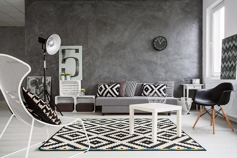 Black And White Monochrome Interior Design For Your Apartment