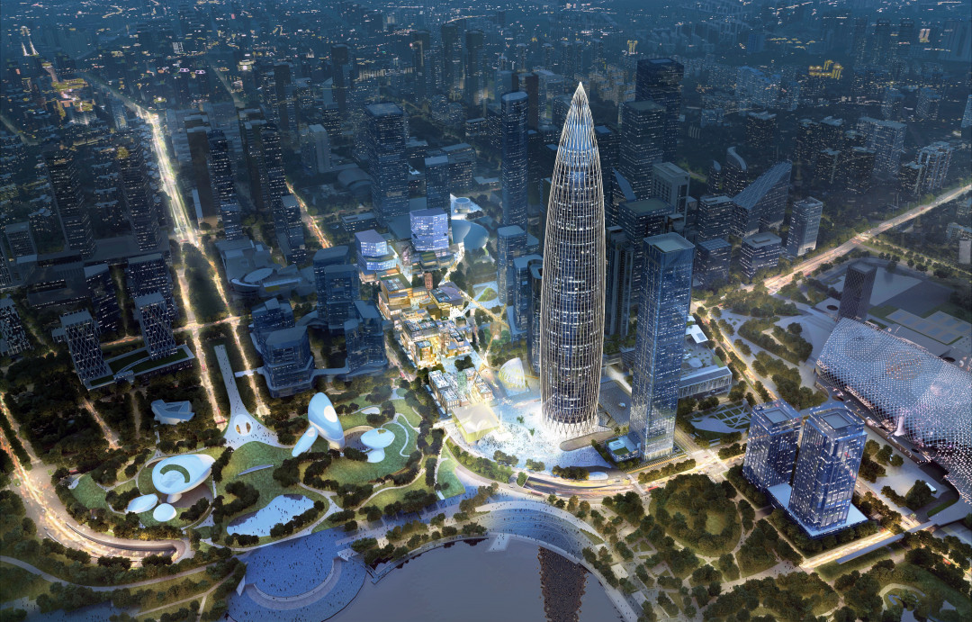 SHENZHEN BAY CULTURAL PLAZA – RE-STITCHING THE CITY FABRIC
