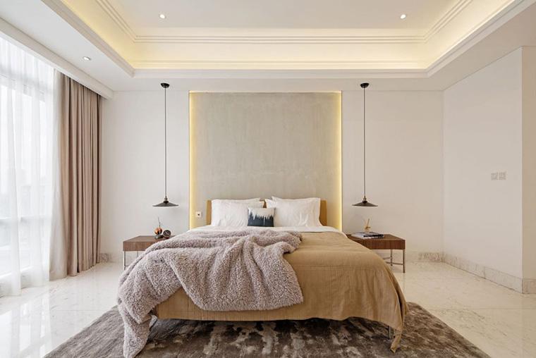 tips dan trik merancang pencahayaan ruang-pada furnitur 11A Residence