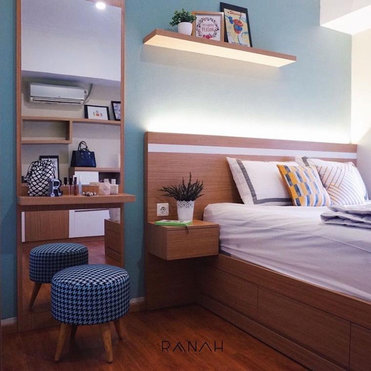 tips dan trik merancang pencahayaan ruang-pada furnitur Margonda Residence