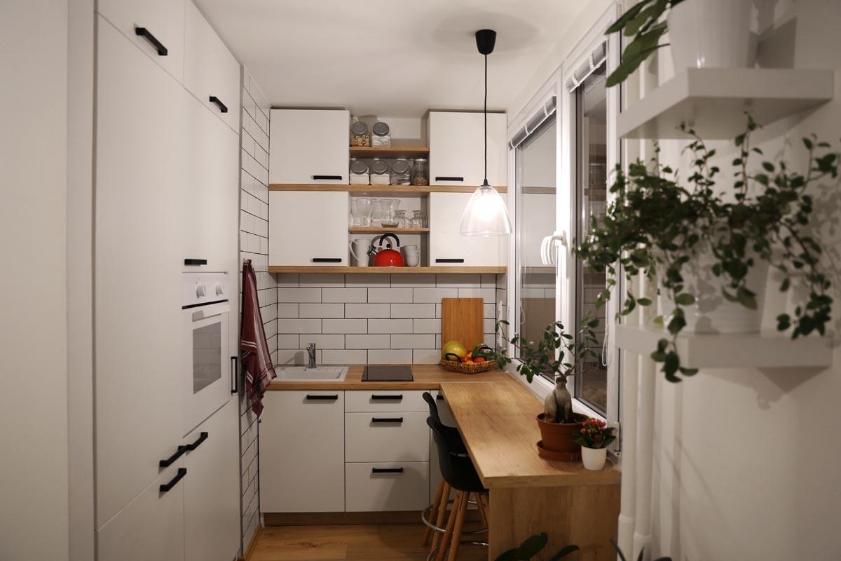 6 Ide Desain Kabinet Untuk Dapur Mungil