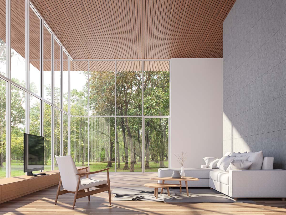 6 Tips Membuat Rumah Berplafon Tinggi Tampak Estetis
