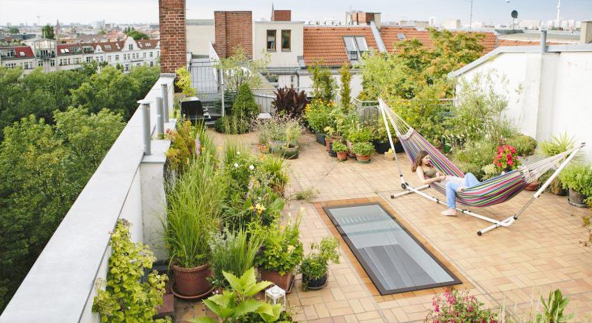 Permalink to √ 14+ Terbaik Desain Taman Rooftop