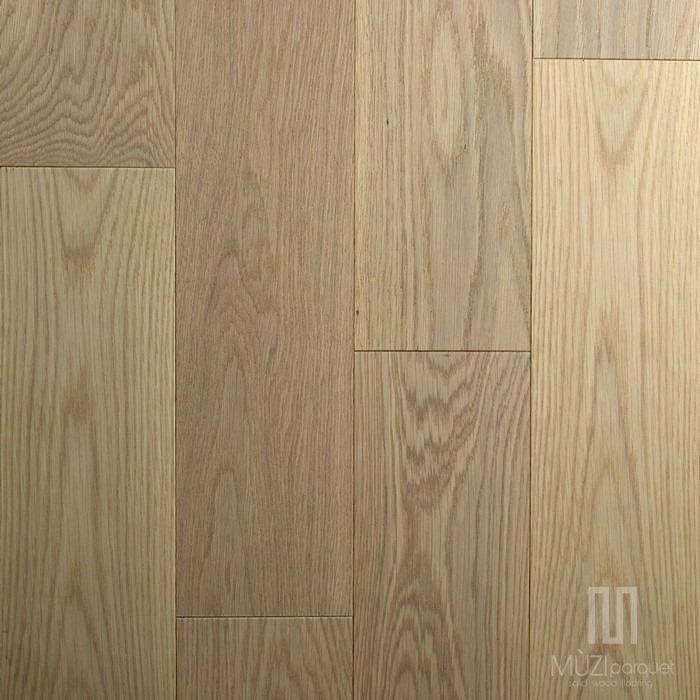 White Oak Color Sandy Beige Oleh Muzi Parquet