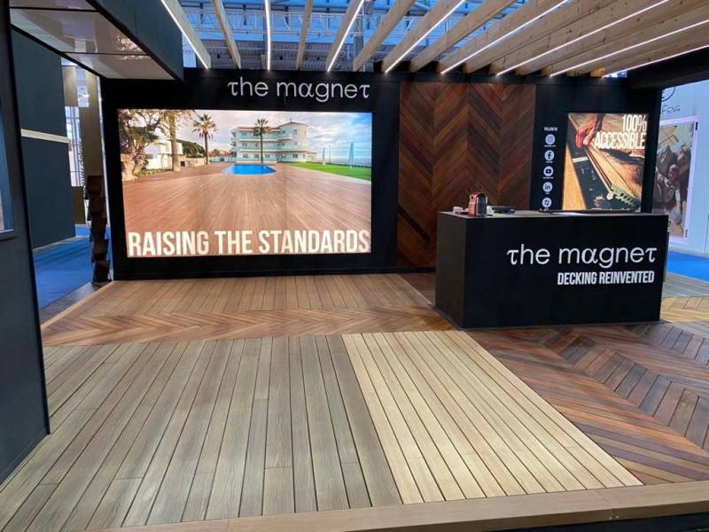 Exterpark & The Magnet shines at its 18th participation in Domotex – Hannover