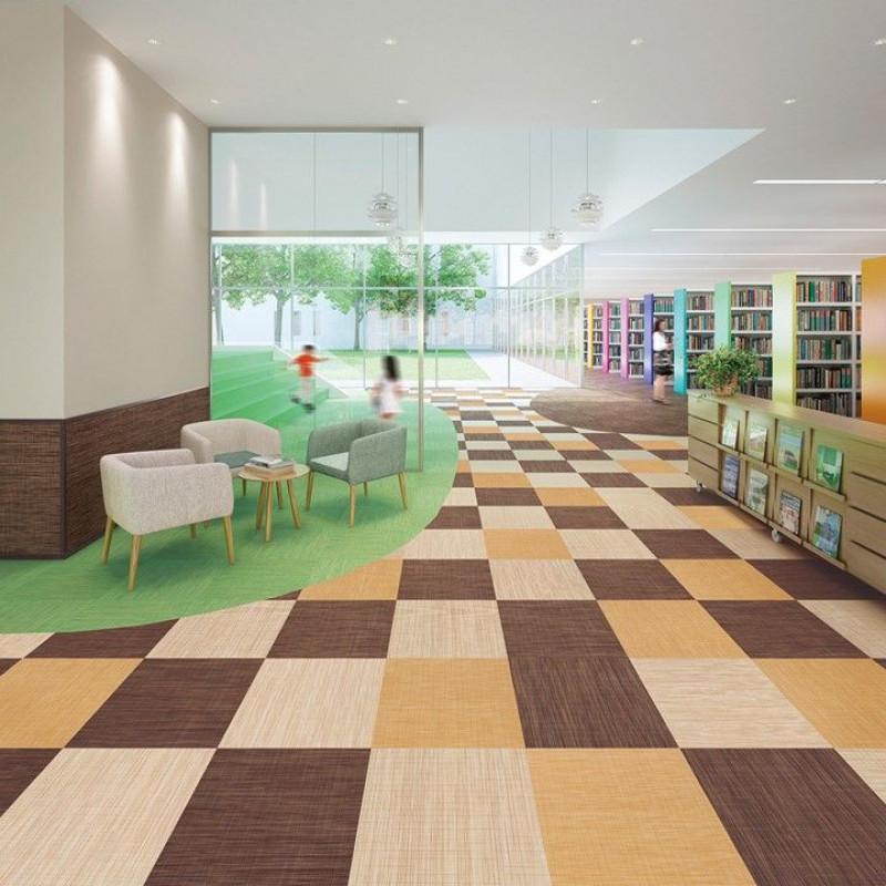 Carpet? Vinyl Flooring? No, this is